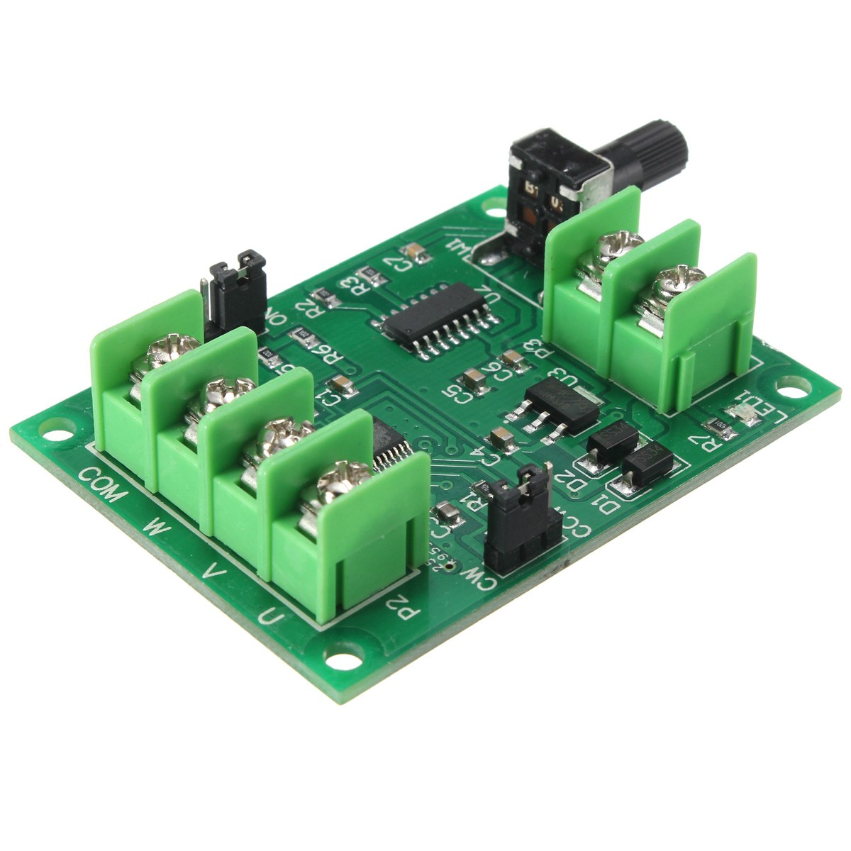Hot Sale New Arrival 5v 12v Dc Brushless Motor Driver Board Circuit Controller For Hard Drive 3 4 Wire