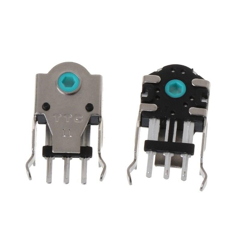 2 шт. оригинальный TTC кодер мыши декодер мыши высокоточной 11 мм зеленый Core
