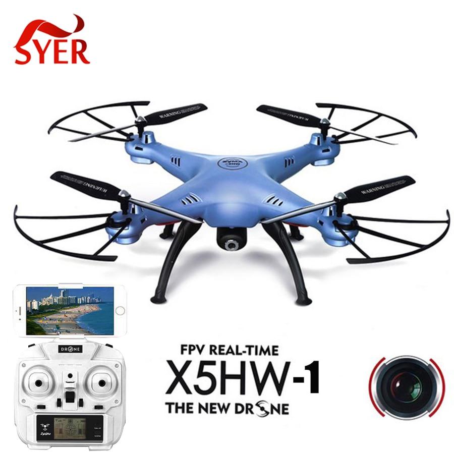 Control remoto de alta calidad rc quadcopter x5hw-1 toys drone con cámara 2.4g 4