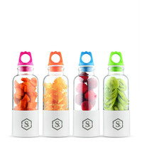 Mini USB Portable Juicer Recharge Personal Small Juice Fruit Mixer Bottle Electric Smoothie Mixing Machine Travel Household