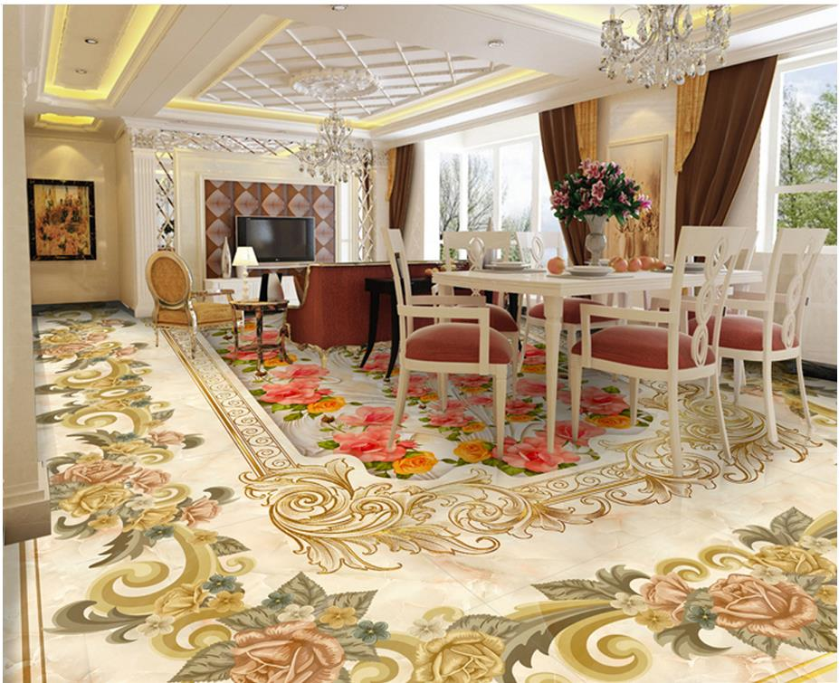 Home Decoration Marble flower Photo wallpaper mural floor Custom photo floor wallpaper 3d floor wallpapers home decoration marble flower photo wallpaper mural floor custom photo floor wallpaper 3d floor wallpapers