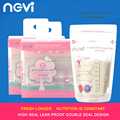 2016 Brand NGVI breastmilk storage bags BPA FREE Baby Food Storage180 ML High sealing double seal design Breast Milk Storage Bag