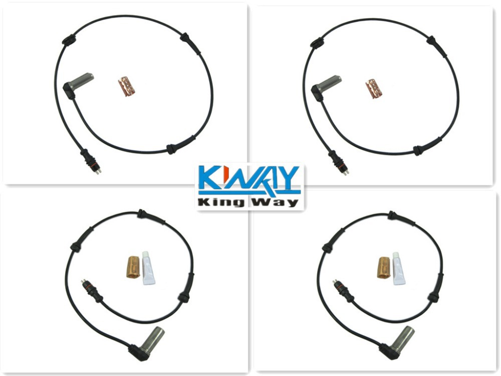 ФОТО ABS SENSOR FRONT REAR LEFT RIGHT FOR LAND ROVER FREELANDER 1999 - 2004 NEW 4 PCS ONE SET