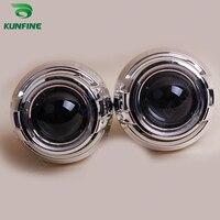 3 0 Inch Car Bi Xenon HID Projector Lens Kit With Cayenne Shroud Include D4S HID