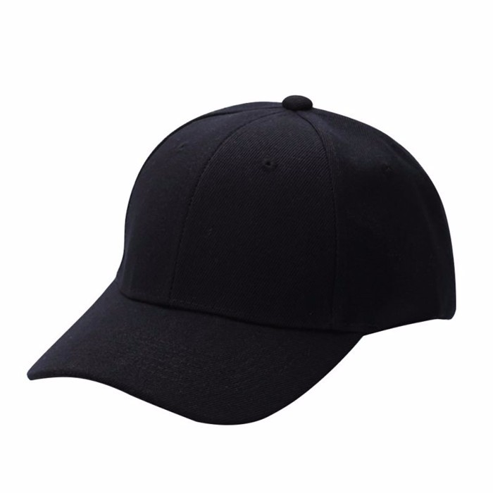 Vīriešu sieviešu vienkārša beisbola cepure Unisex izliektas - Apģērba piederumi