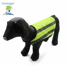 Fluorescent Reflective Pet Dog Vest Clothes Adjustable Elastic Dog Sleeveless Vest For Small Medium Larger Dog