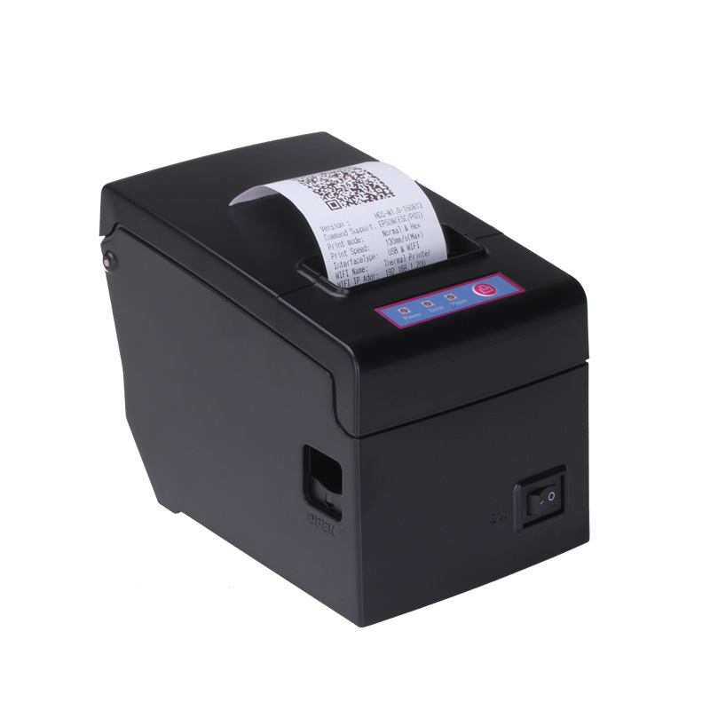 honeprt Quality pos58 usb Serial ethernet bluetooth wifi receipt bill thermal printer for Android windows ios priniting