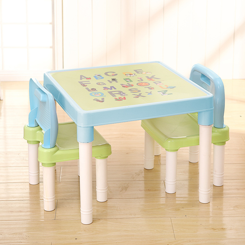 Children's Desks And Chairs Learning Table Children's Plastic Chairs Children's Desks And Chairs Combination Children's Learning #1