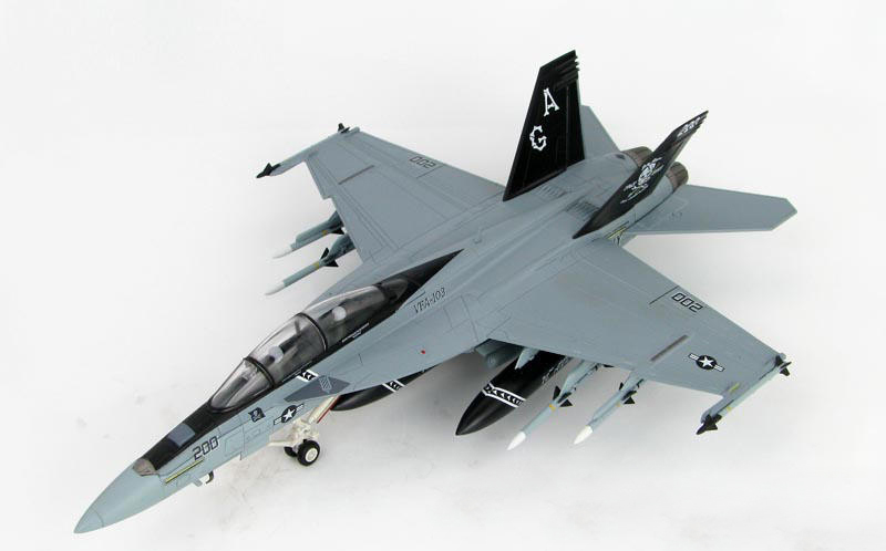 HM 1/72 F/A-18F Super Hornet fighter model VF103 squadron HA5104 Alloy collection model Holiday gift brand new 1 72 scale fighter model toys usa f a 18f super hornet fighter diecast metal plane model toy for gift collection