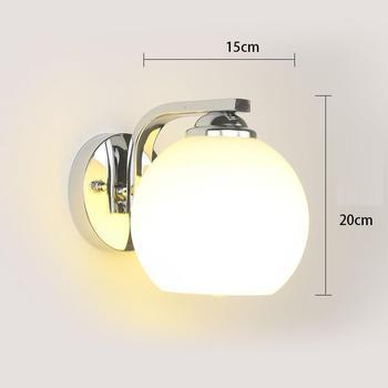 โมเดิร์นห้องน้ำ Wandlampen Candeeiro De Parede Kinkiety Wandlamp Applique Murale โคมไฟ Aplique Luz Pared โคมไฟ