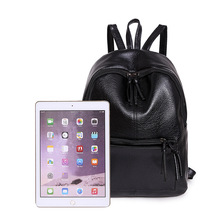 YUFANG Fashion Quality PU Leather Korean Women Backpacks Casual Travel Shoulders Package Female School Bag BackPack For Girls