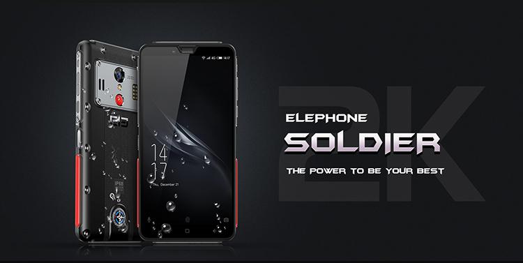 ELEPHONE Soldier 4 GB 128 GB IP68 1