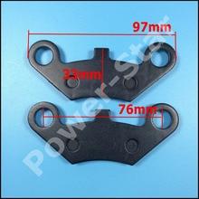 2 sztuk przednie klocki hamulcowe dla CF MOTO 500cc Cf moto 500 CF500 CF600 600cc X5 X6 X8 ATV UTV ATV 4 napęd Quad