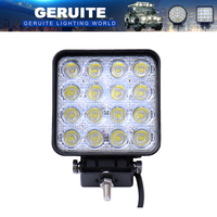 1PCS 48W 4800LM IP67 LED Work Light For Indicators Motorcycle Driving Offroad Boat Car Tractor Truck