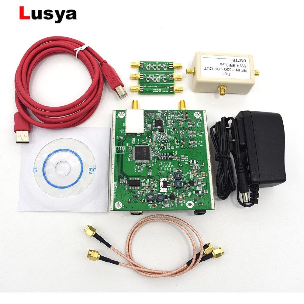 Nouvel analyseur de balayage USB NWT500 0.1 MHz-550 MHz + atténuateur + pont SWR + câble SMA NWT500 B3-006