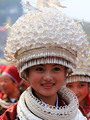 Miao silver clothing hair accessory collar costume silver cap Gorgeous Hair Crownpiece Hair Tiaras