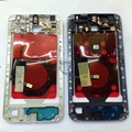 For Google Nexus 6 White/Black Original Middle Frame with Flex Cable NFC Wireless Charger Housing Assembly
