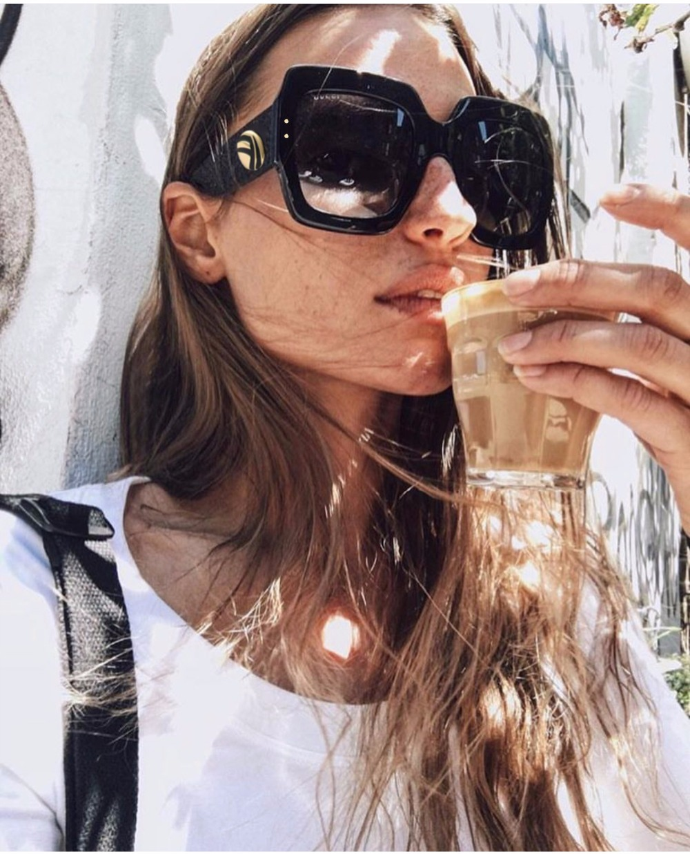 f87d7128f78 WHO CUTIE 2018 Oversized Square Sunglasses Red Black Green Three ...