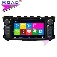 TOPNAVI Wince 6.0 Two Din 8″ Car Media Center DVD Auto Player For Nissan Teana 2013- Stereo GPS Navigation Audio Bluetooth MP4