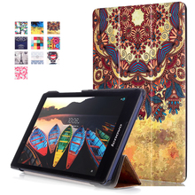 PU Leather Cover Case For fundas Lenovo Tab 3 TAB3 8.0 TB3-850F 850M For Lenovo Tab 2 A8-50 A8-50F A8-50LC 8″ Tablet Cover