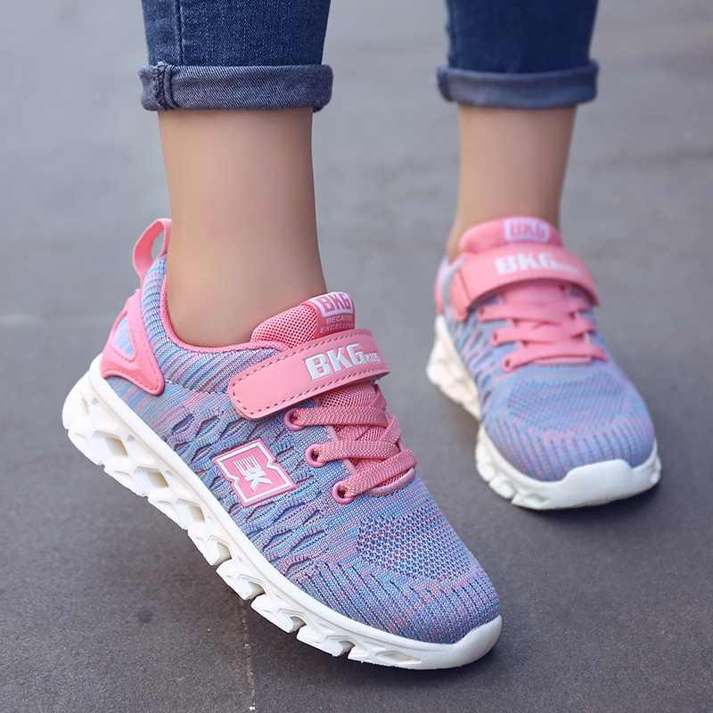 Nieuwe Kinderen Loopschoenen Voor Jongens Meisjes Ademende Sport Sneakers Lente Kleine Grote Kinderen Schoenen
