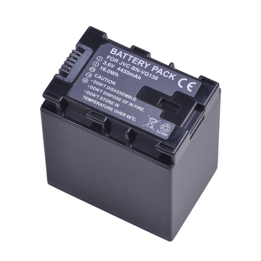 1 pc BN-VG138 BN VG138 Caméra Batterie pour JVC Everio GZ-E10 GZ-E100 GZ-E200 GZ-E300 GZ-E505B GZ-E515B GZ-EX250 GZ-EX310 GZ-EX355