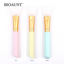 BIOAUNT 1pc Professional Soft Silicone Facial Mask Brushes Face Concealer Cosmetics Skin Care Brush Makeup Tools w/ Top Quality