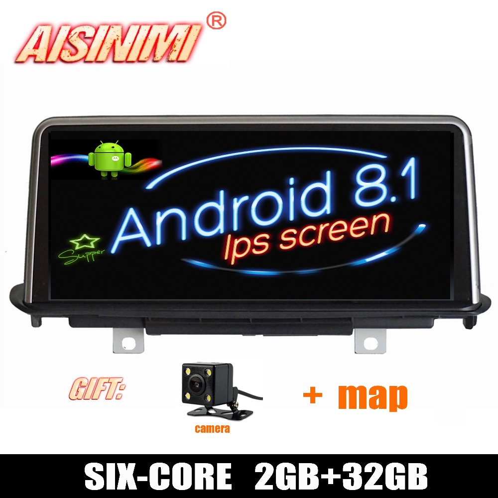 Android 8.1 Car Dvd Navi Player FOR BMW X5 F15 (2014-2017) Original NBT System audio gps stereo auto 10.25 ips screen all in one