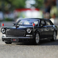 High Simulation Exquisite Flashing Musical 1 32 Parade Car Collection Model Gift