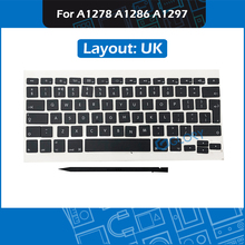 New Keycap set UK Layout AP02 AP04 for Macbook Pro A1278 A1286 A1297 Keycaps with Crowbar Replacement