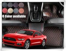 РЖС/LHD автомобиль коврик для Ford Mustang 2 двери 2015 2016 2017 стайлинга автомобилей аксессуары загрузки колодки