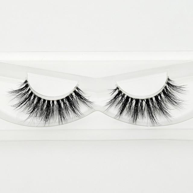 Visofree Mink Eyelashes Invisible Band Lashes Natural 3D Mink False Eyelash Full Strip Transparent band lashes cilios posticos 3