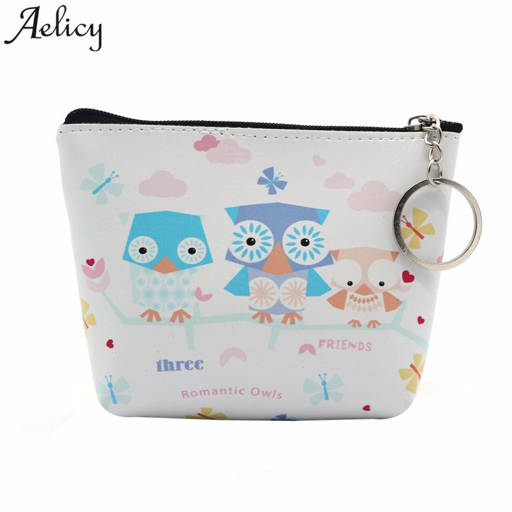 Aelicy  Luxury New Brand Leather Purses Small Fresh Casual Pu Coin Wallet Lady Fashion  Cartoon Dollar Money Bag Card HolderAelicy  Luxury New Brand Leather Purses Small Fresh Casual Pu Coin Wallet Lady Fashion  Cartoon Dollar Money Bag Card Holder