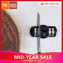 Original Xiaomi Mijia HuoHou Professional Knife Sharpener Quick Sharpening Stone Grinder Whetstone Tungsten Sharpener(China)