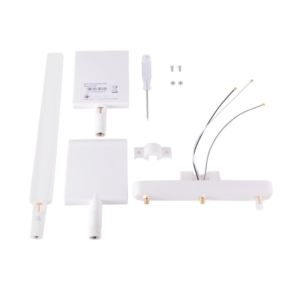 WiFi Signal Range Extender Antenna 5.8G Booster 10dBi Omni Amplifier Kit for DJI Phantom 3 Standard RC456