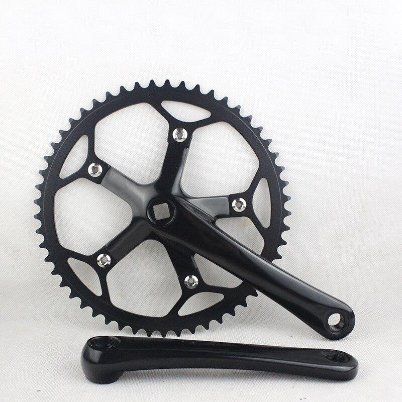 53T одной скорости BMX Звезду складной велосипед рукоятки Велоспорт переменной скорости Шатунов