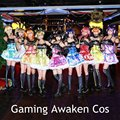 Love Live Led игровой костюм для косплея Нико Рин Уми Нозоми Котори кибер идолизированное освещение Униформа блестящее платье для Хэллоуина