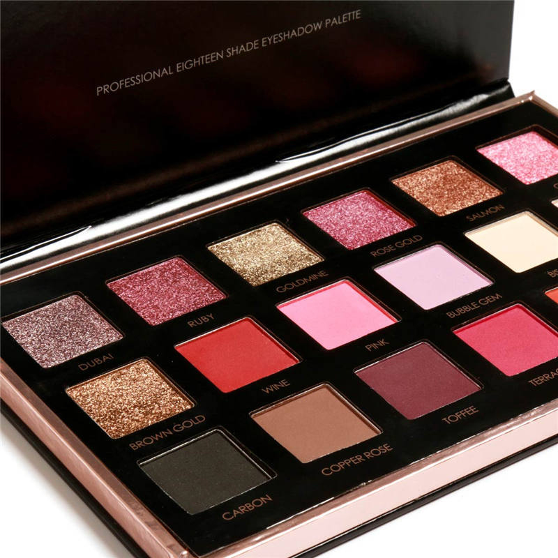 Best Pro Eyeshadow Palette Matte - 16 Highly Pigmented