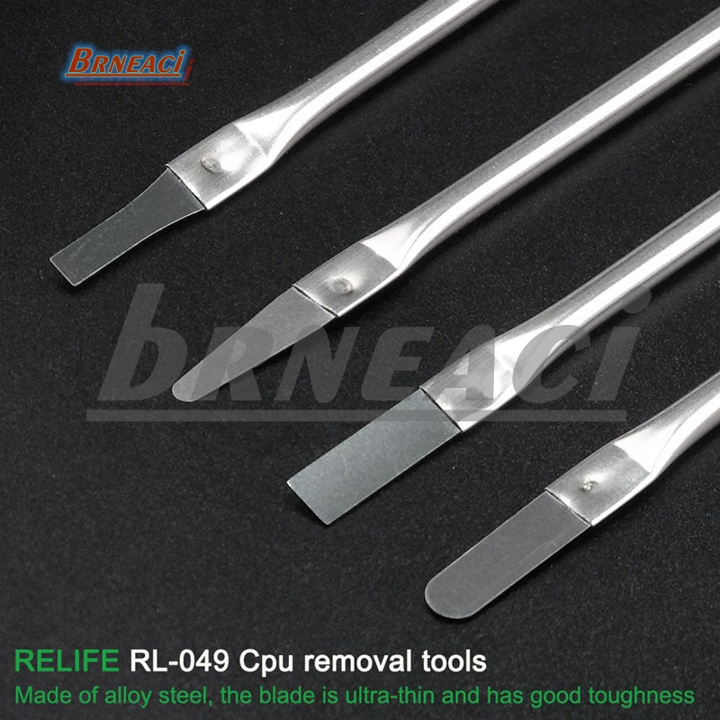 RELIFE RL-049 Latest Glue Removing Knife CPU Disassembly Separation Glue 4in1 Removal Tool For IPhone IPad Laptop Lcd Cpu Clear