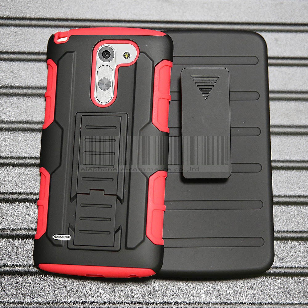 Cell Phone Accessories Punctual For Lg G3 Stylus D690 D693 Shockproof Hybrid Rubber Rugged Hard Case Cover Skin Reasonable Price