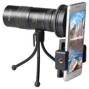 Image 5 - Zoom Monocular 10 100x30 telescopio HD portátil teléfono móvil Cámara telescópica Spyglass Binocular caza tiro Golf turismo