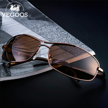 VEGOOS Sunglasses Men 2019 Polarized High Quality Small Square UV400 Protection for Driving Fishing Sports Sun Glass