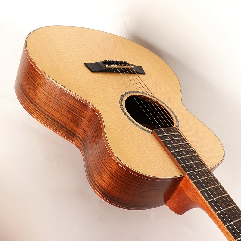 good quality 36inch hickory wood acoustic guitar small guitar for kids