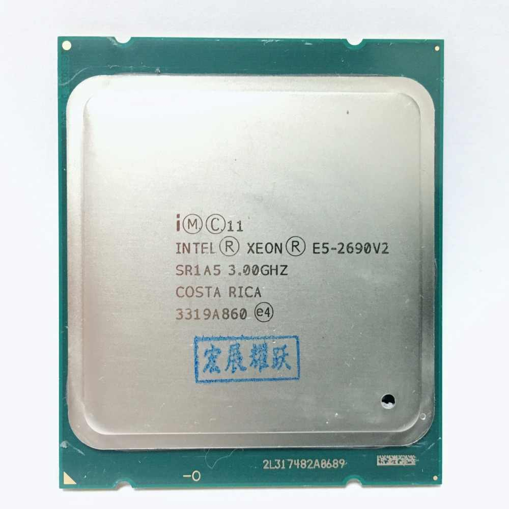 Intel Xeon Processor E5 2690 V2  CPU 3.0G  LGA2011 Ten Cores Server processor  e5-2690 V2  E5-2690V2 formal edition
