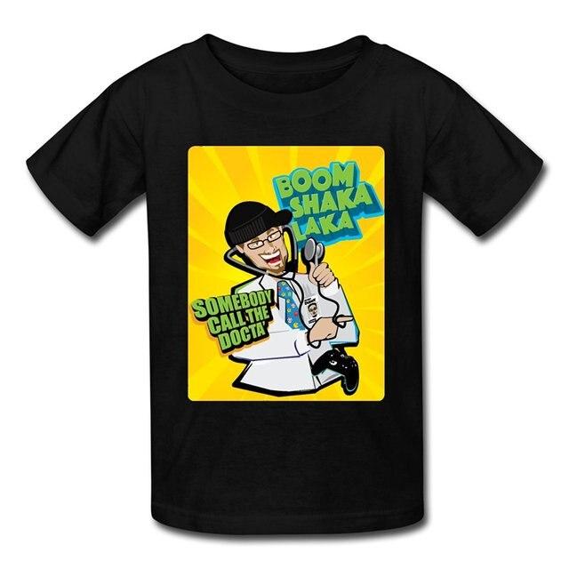 Spreadshirt FGTeeV Boom Shaka Laka Kids T Shirt