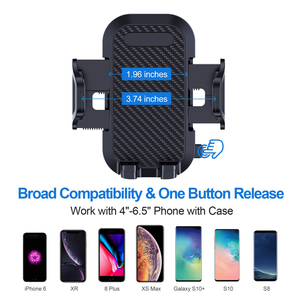 Image 5 - לארווין רב פונקצית רכב טלפון מחזיק שמשה קדמית לוח מחוונים עבור iPhone xiaomi נייד טלפון מחזיק תמיכת smartphone voiture