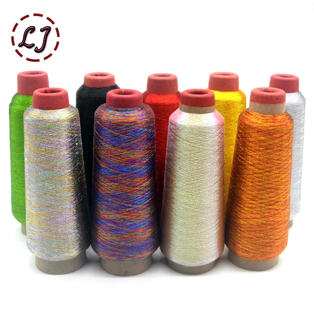 Hot Sale 3200M/Roll DMC Metallic Embroidery Crochet Knitting Yarn Cross Stitch Metallic Yarn Threads Sewing Accessory Diy