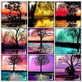 FB0318 деревья в озере красоты 10 шт Смешанные 12 мм/20 мм/25 мм/30 мм квадратное фото стекло кабошон demo плоский задний делая результаты