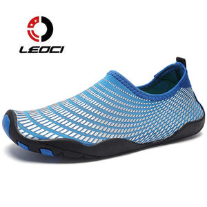 a61fd9bebf64 Aqua Sneakers For Men Stretch Fabric Beach Water Shoes Summer 2017