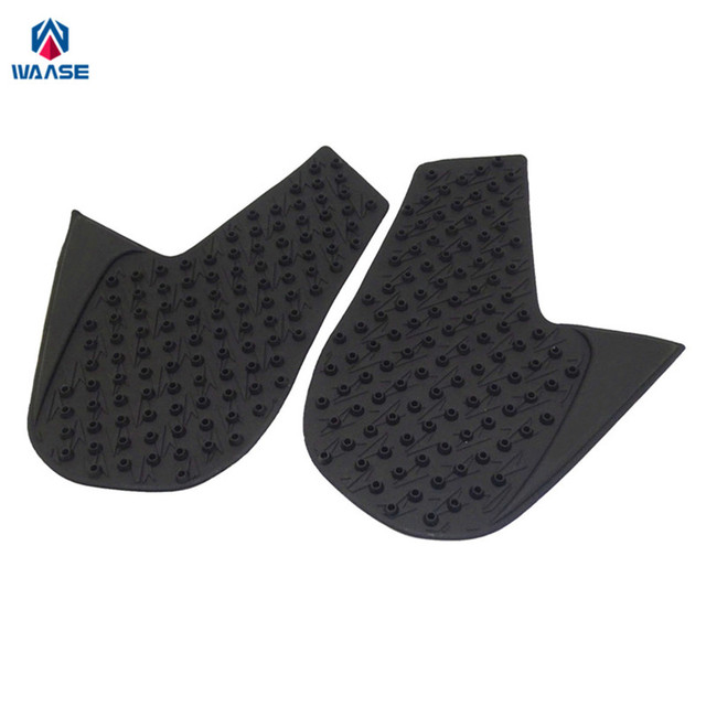 waase Motorcycle Tank Pad Protector Sticker Decal Gas Knee Grip Tank Traction Pad Side For Yamaha MT-09 MT09 2014 2015 2016